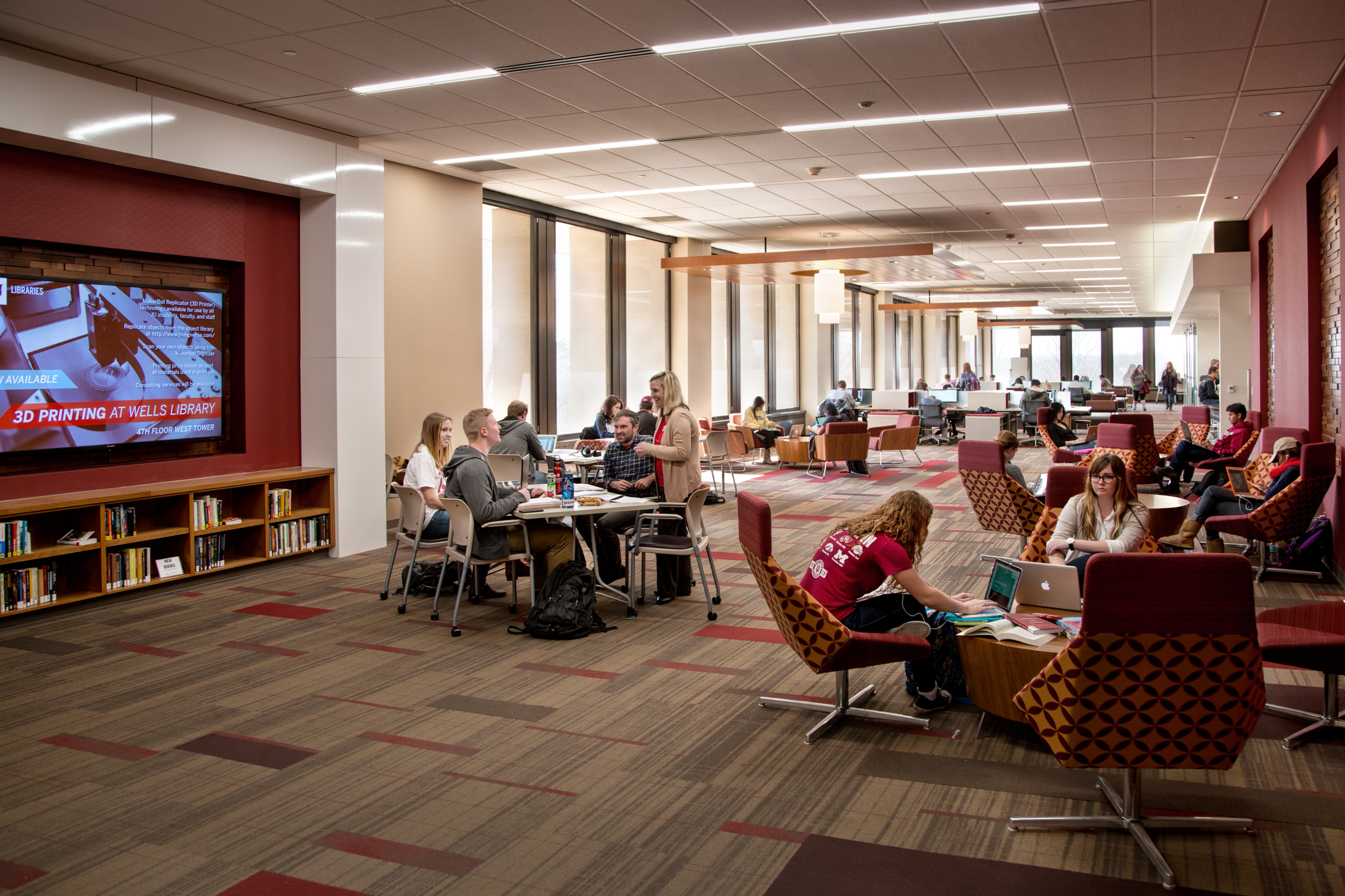 Terrific About Administration Indiana University Libraries Largest Home Design Picture Inspirations Pitcheantrous