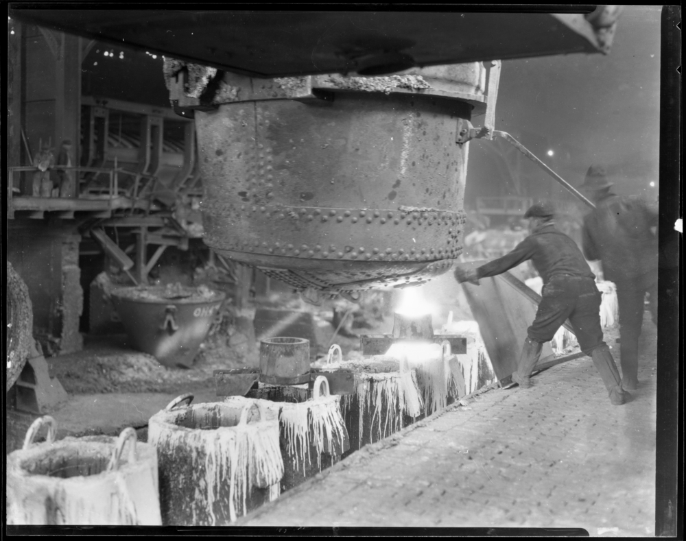 Photo from Calumet Regional Archives, U.S. Steel Photographs