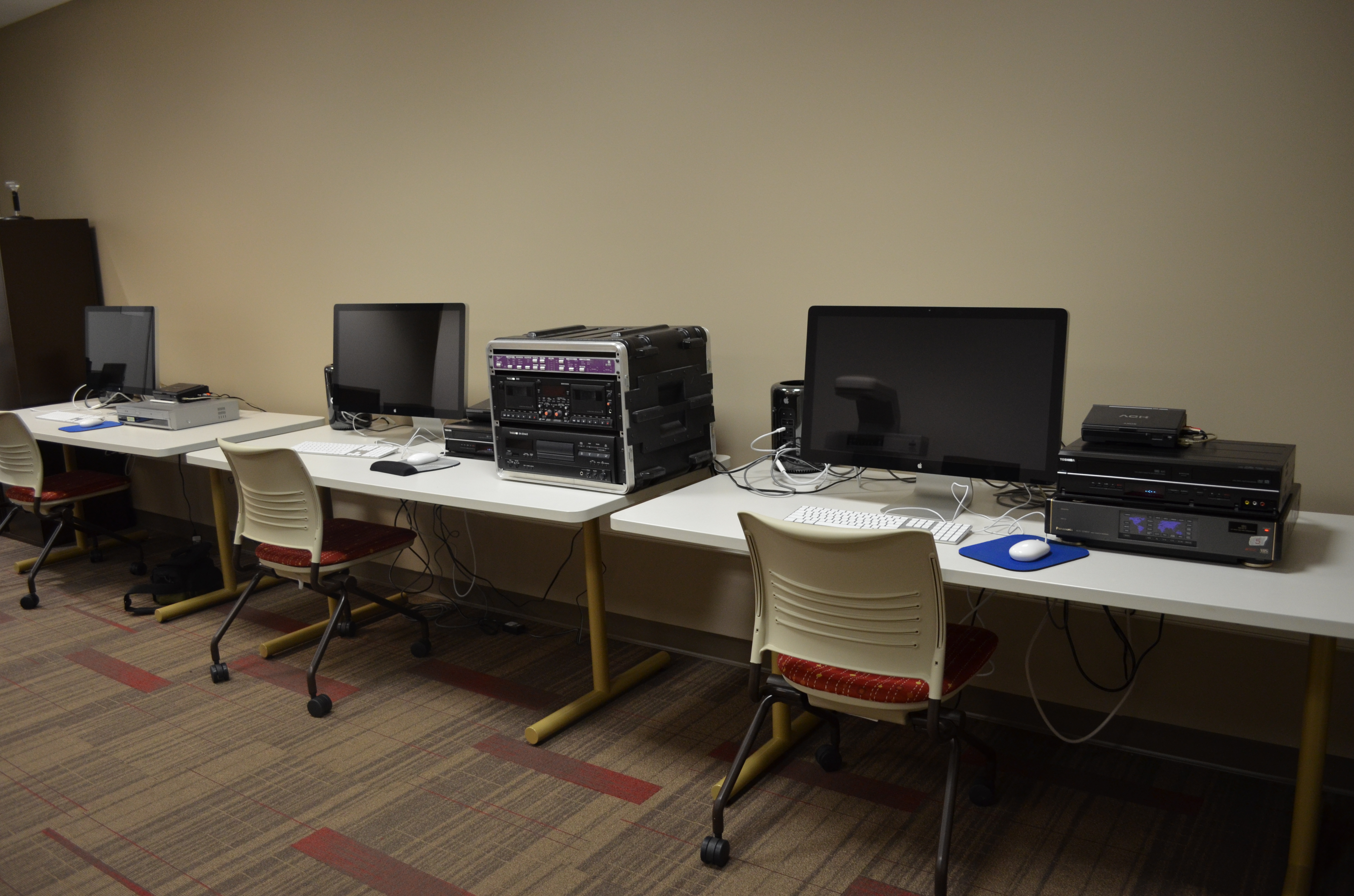 Equipment in the Secure Audio/Video Digitization Lab