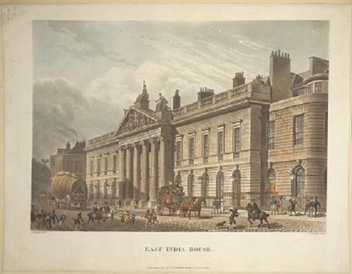The Eat India House in London, 1800 (British Library)