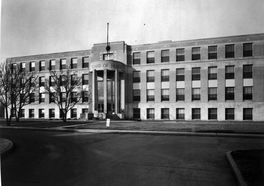 Board of Health Building, 1941 (Fesler Hall)