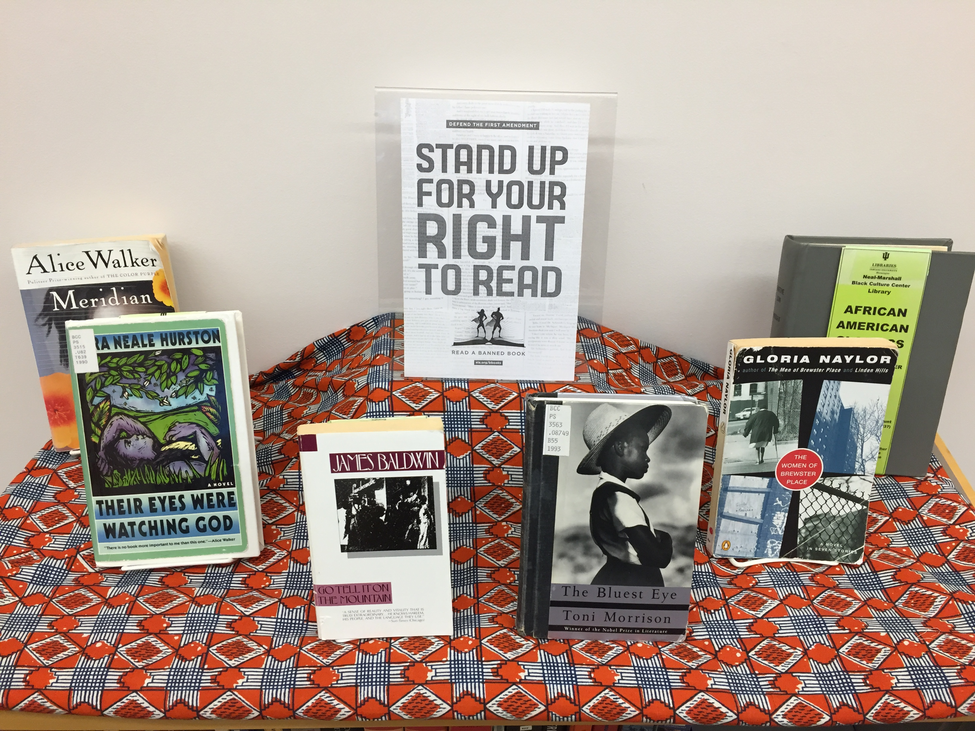 NMBCC Library Banned Books Display