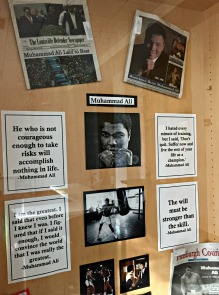 Muhammad Ali newspapers, photographs, and quotes