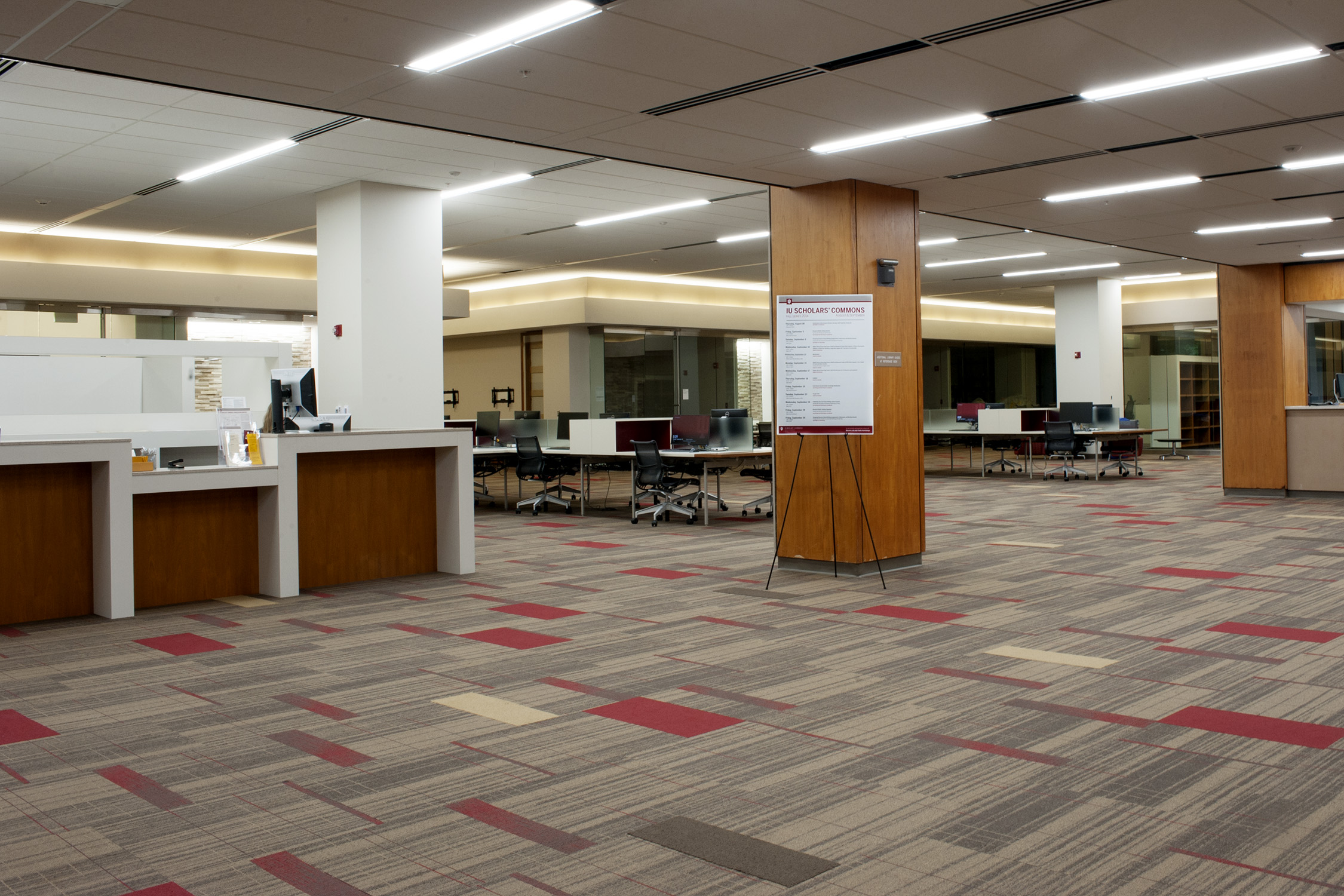 Scholars commons grand opening indiana university libraries
