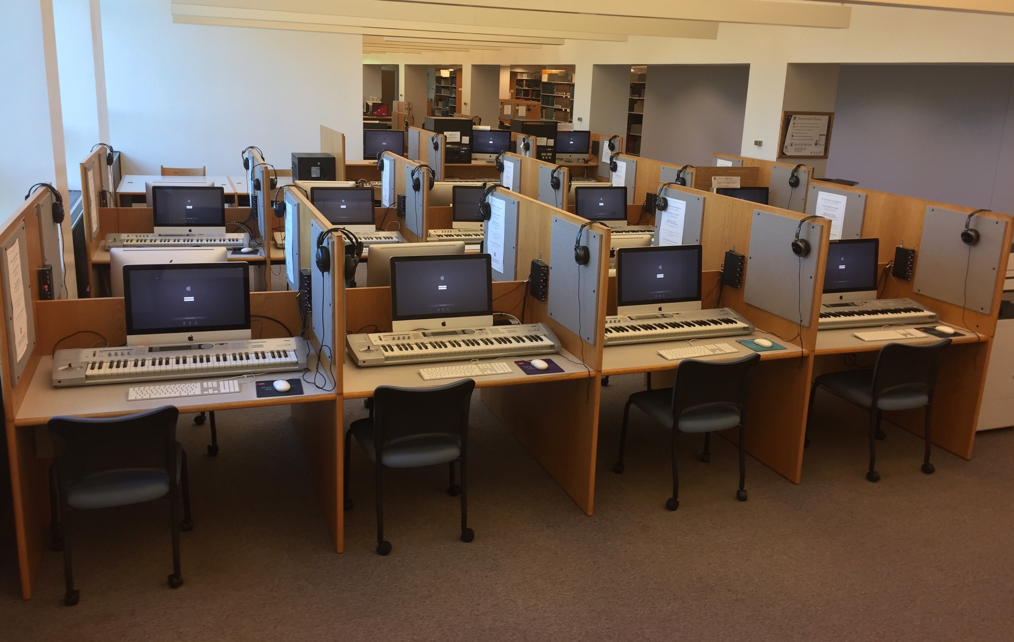 Simon Music Library 360 iMacs