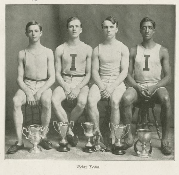 1906 Indiana University track relay team
