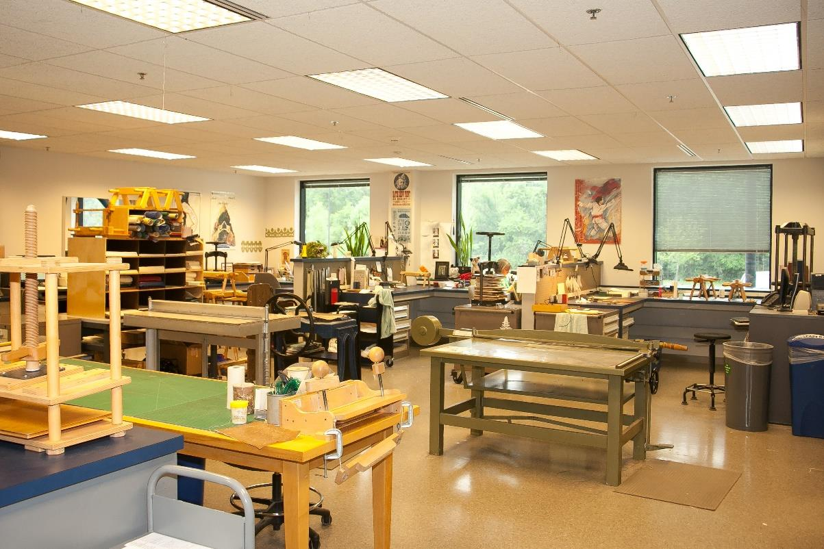 Preservation Lab main workroom