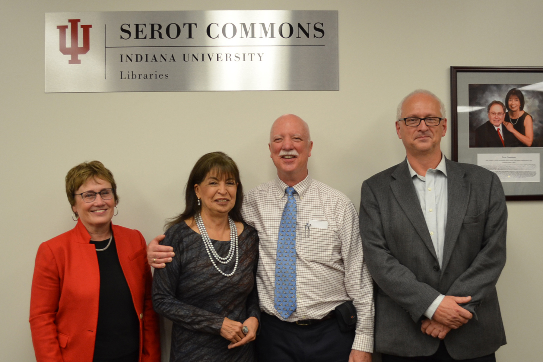 Serot Commons Dedication Speakers