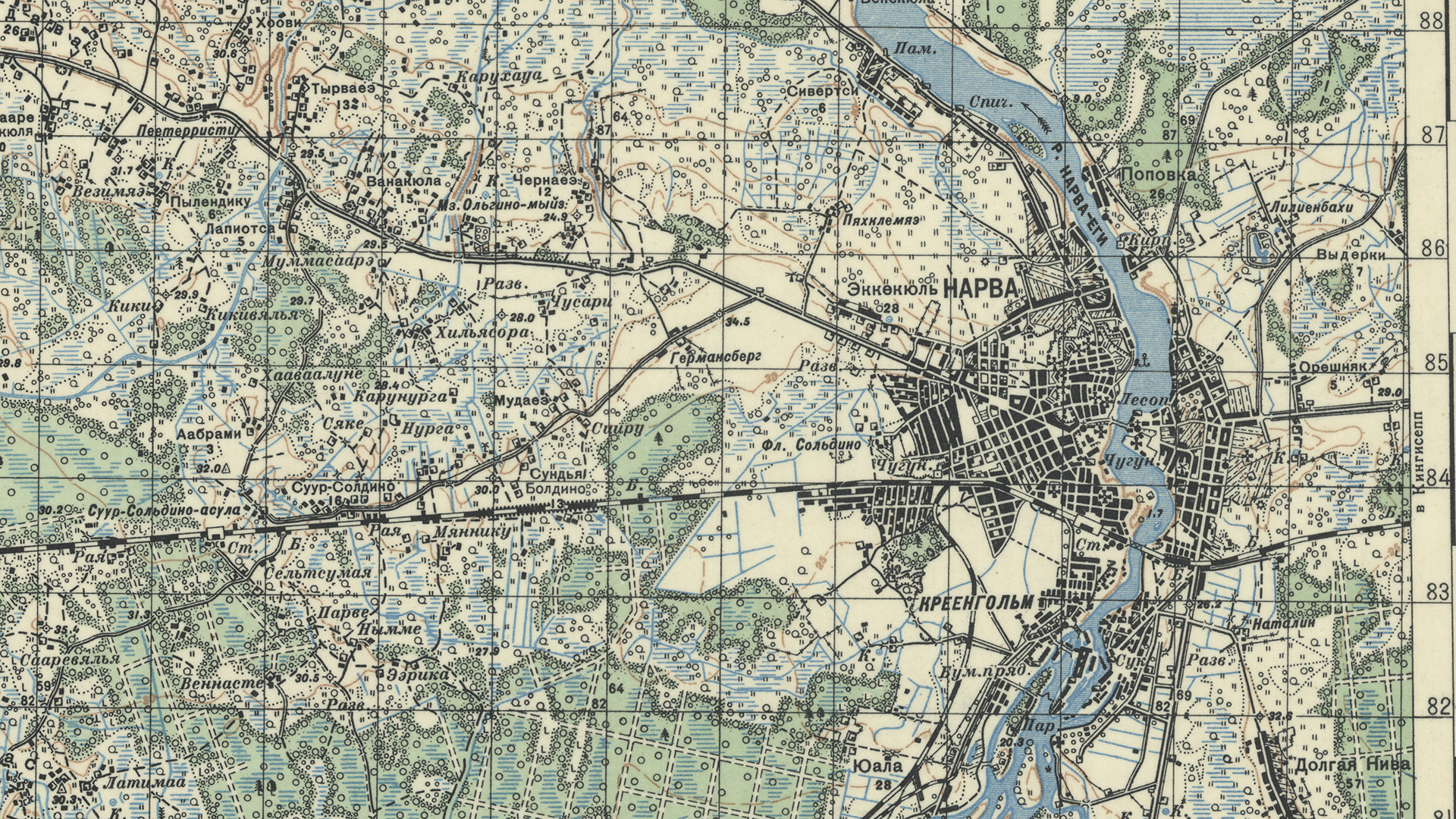 Digitizing Captured Russian Military Maps Indiana University Libraries