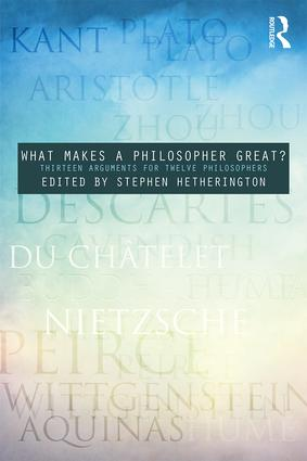 Cover of What Makes Philosophy Great