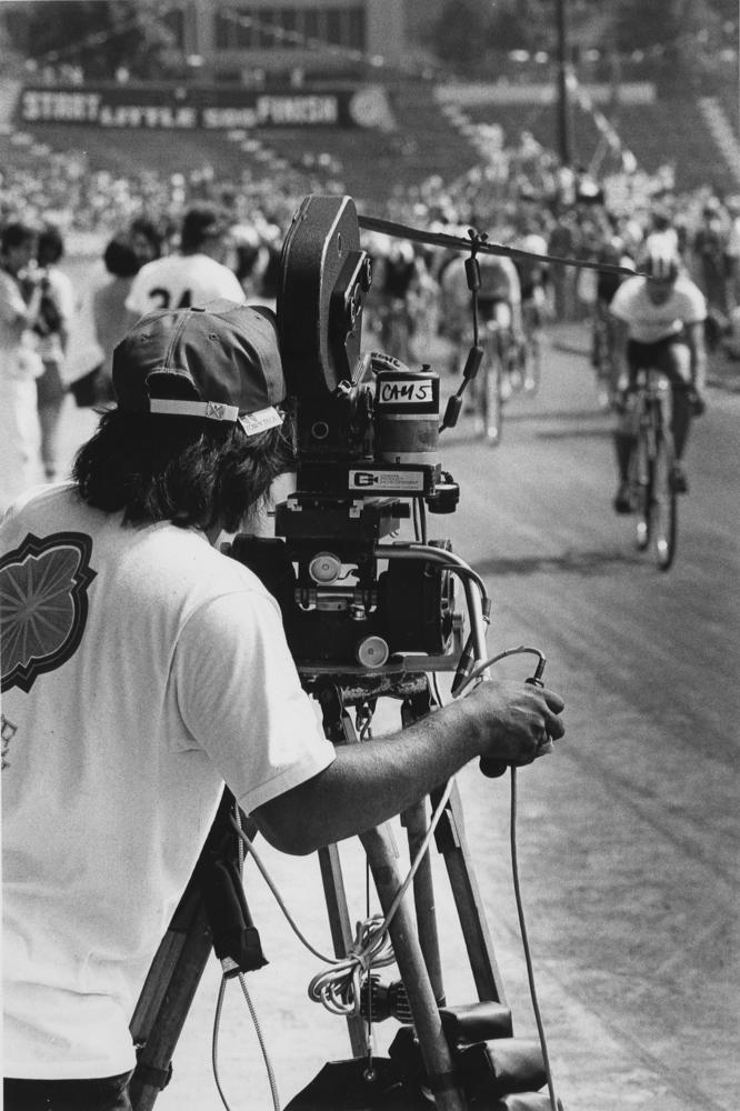 Filming of Breaking Away, 1978
