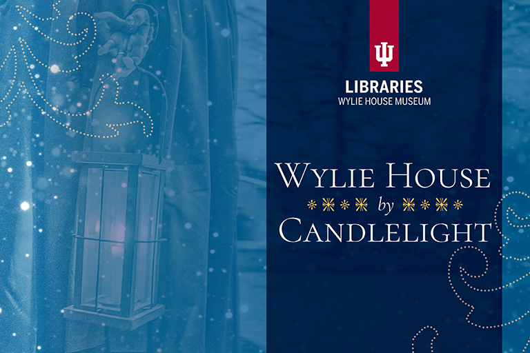 Wylie by Candlelight invitation