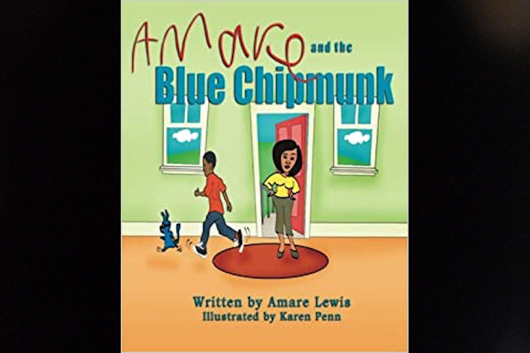 Amare and the Blue Chipmunk by Amare Lewis