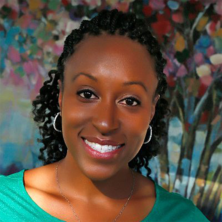 Photo of JaNay Brown-Wood.