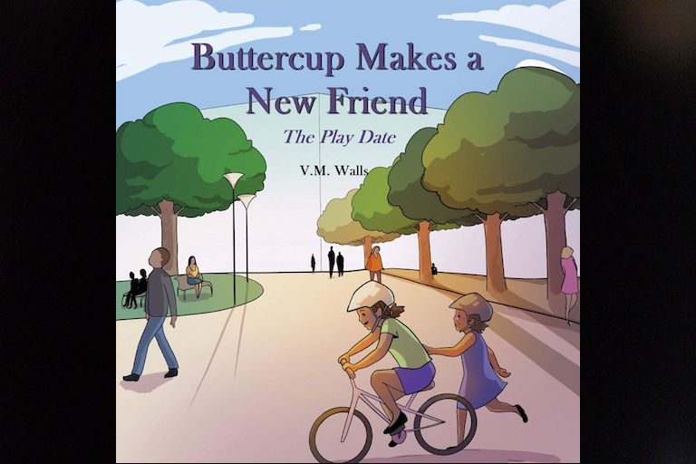Buttercup Makes a New Friend: The Play Date by V.M Walls.