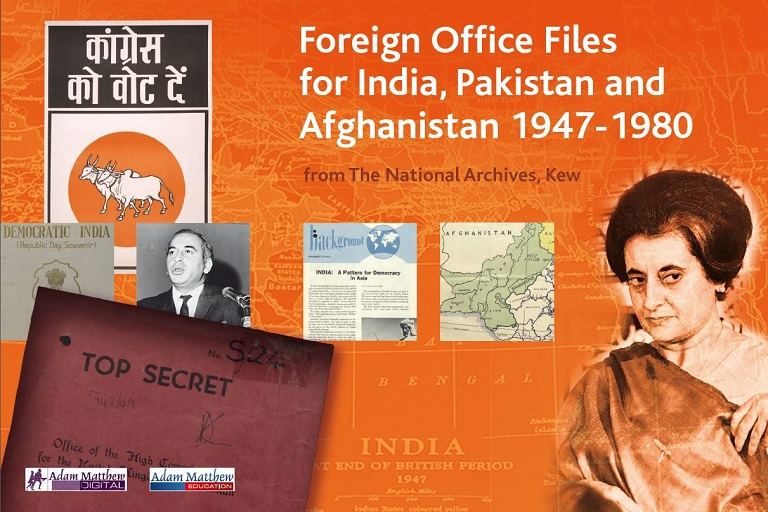 Foreign Office Files cover page