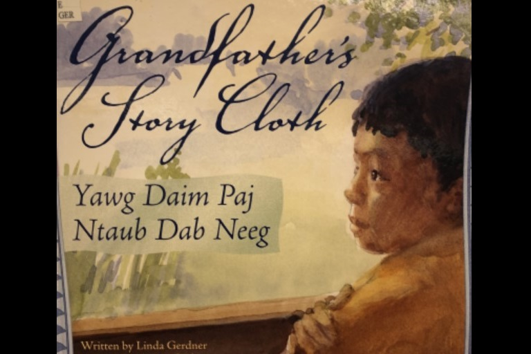 Grandfather's Story Cloth by Linda Gerdner and Sarah Langford.