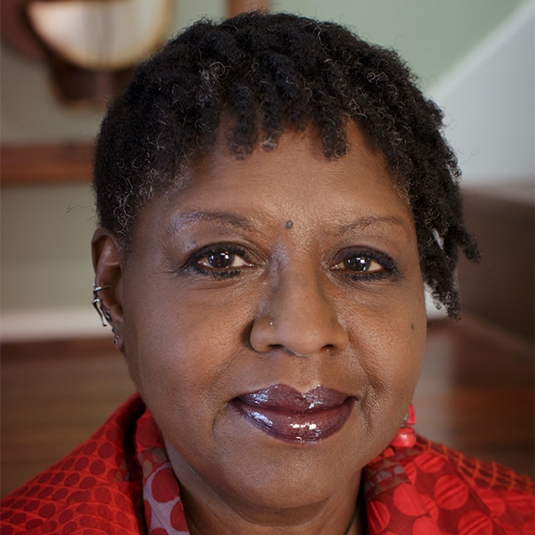 Photo of Nikki Grimes.