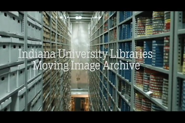 Indiana University Libraries Moving Image Archive (still from YouTube video)