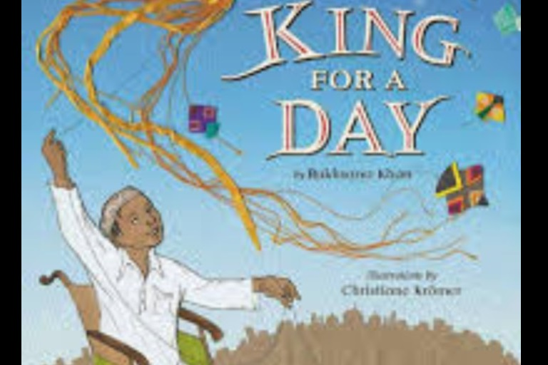 King for a Day by Rukhsana Khan.