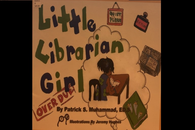 Little Librarian Girl by Patrick S Muhammad.
