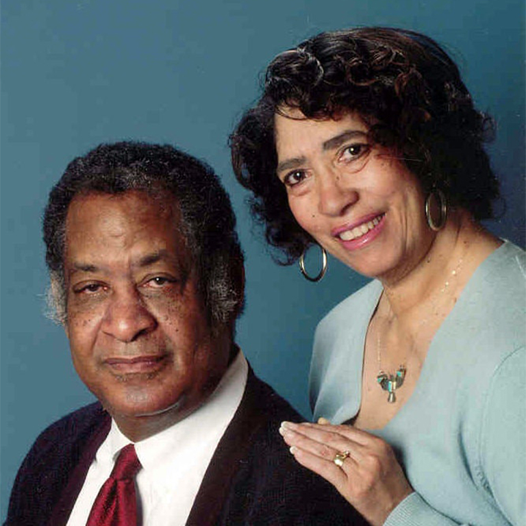 Photo of Patricia & Fredrick McKissack.