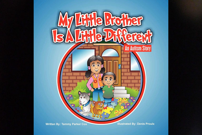 My Little Brother is a Little Different by Tammy Parker Cox.