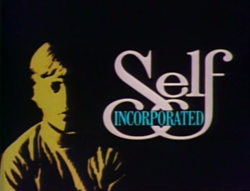 still from Self incorporated title screen showing child