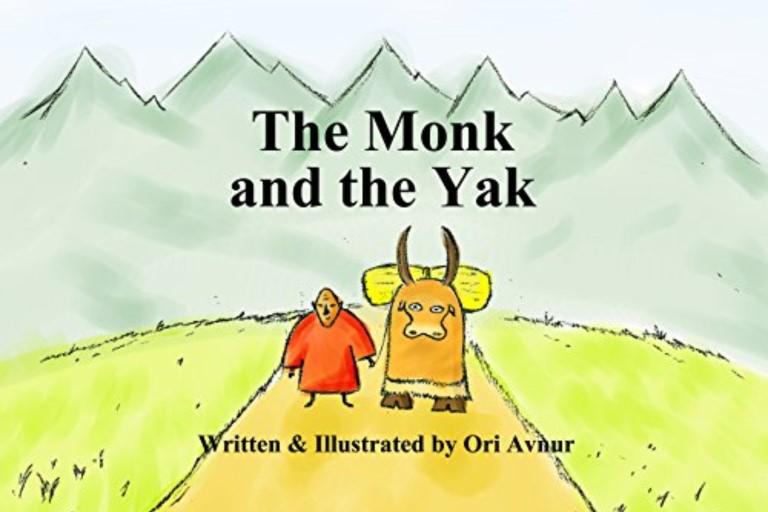 The Monk and the Yak by Ori Avnur.