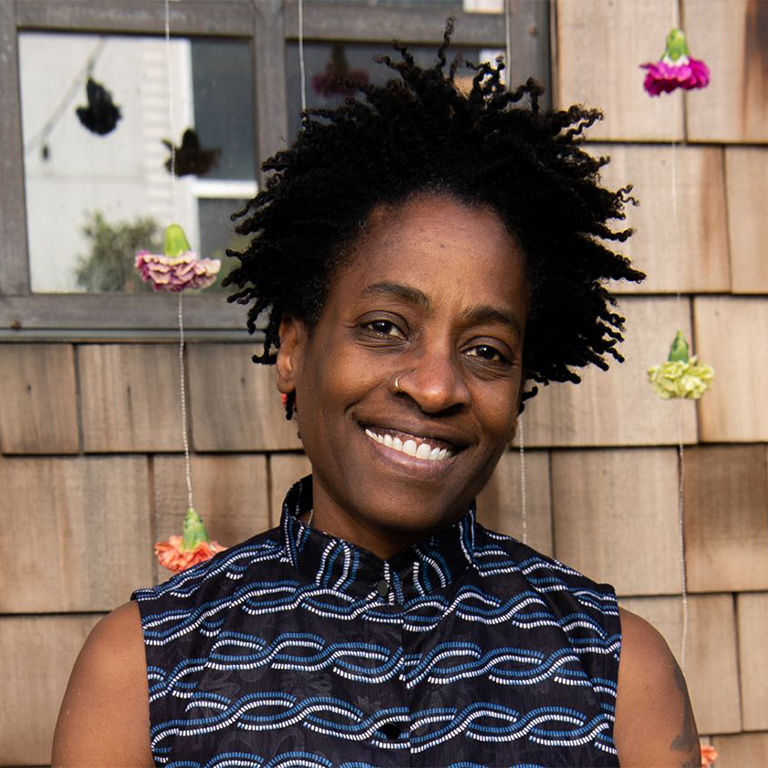 Photo of Jacqueline Woodson.