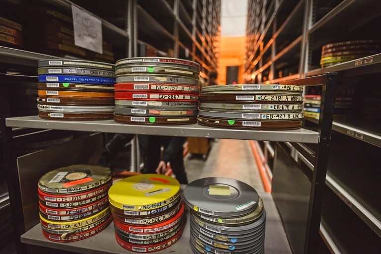 Film files in the IU Libraries' archive