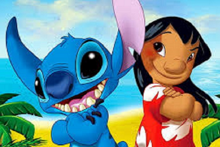 still from Lilo and Stitch
