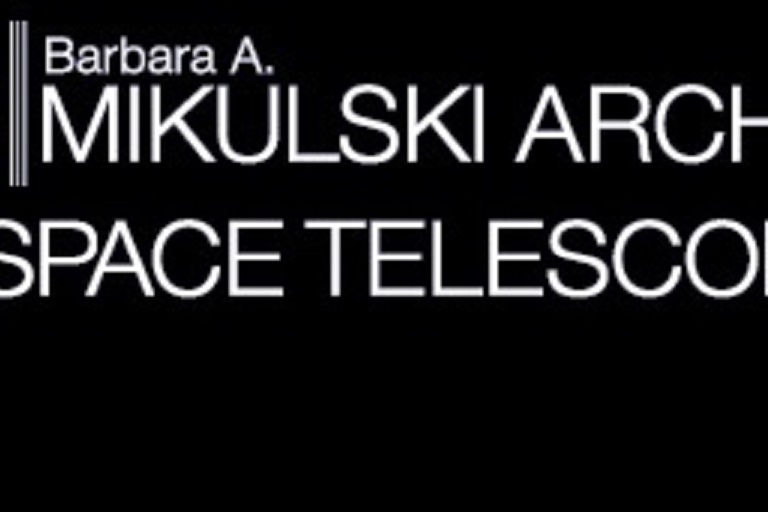 Mikulski Archive for Spaces Telescopes logo