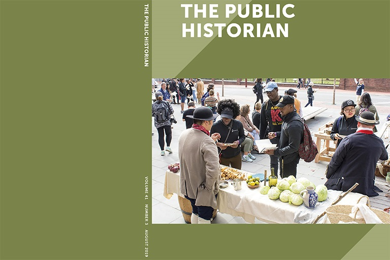 Cover of The Public Historian, Volume 41 Number 3 August 2019