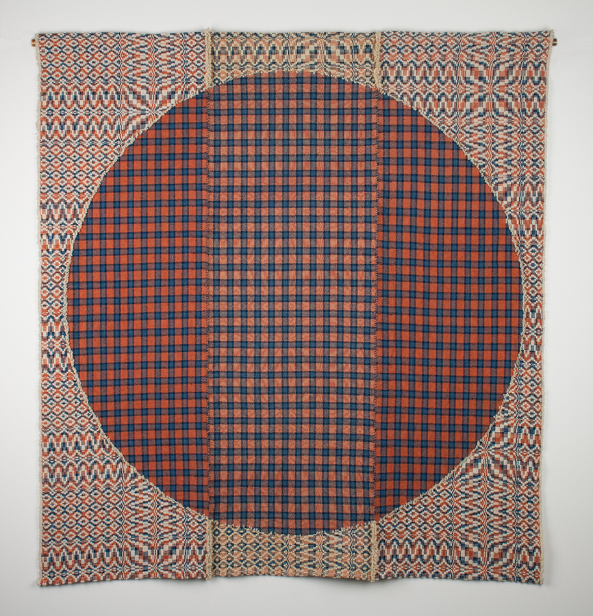 Large woven experimental piece by Rowland Ricketts