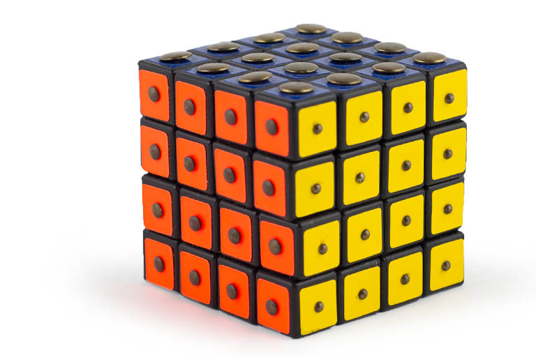 Picture of a texture cube, 1982