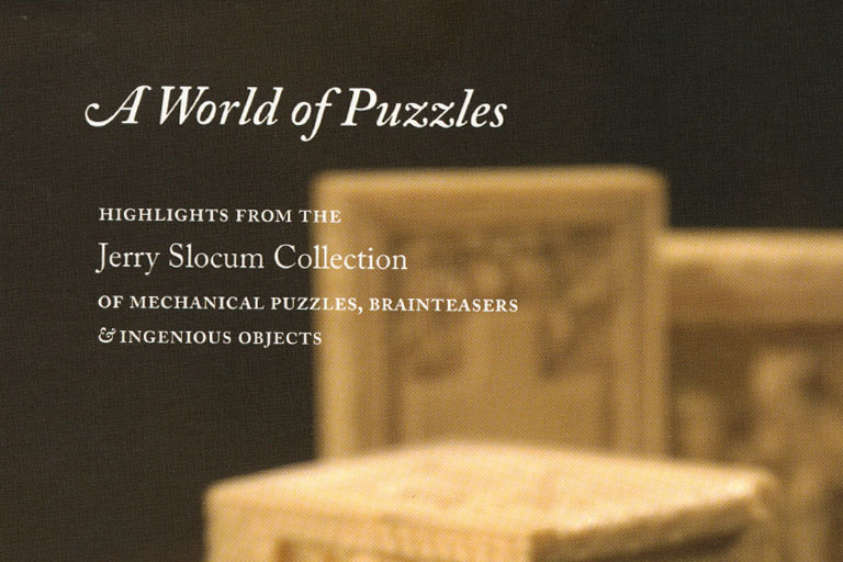 Cover, A World of Puzzles