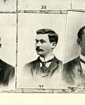 1894 Yearbook photo of Daniel Biddle