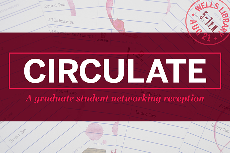 Circulate Graduate Student Networking Reception