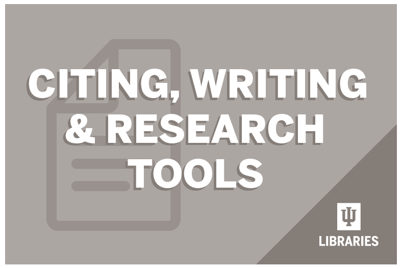 Citing, Writing and Research Skills