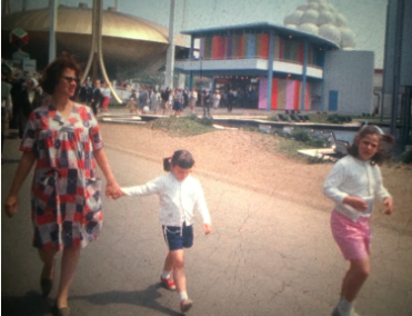 still of Naomi feil and children at worlds fair