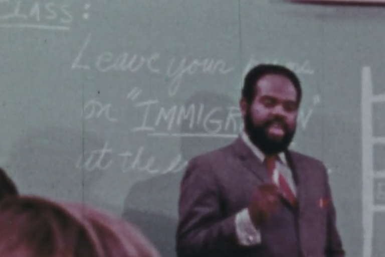 Image from film screening: Your Story is Moving: Perspectives on Immigration