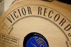 Victor Records sleeve