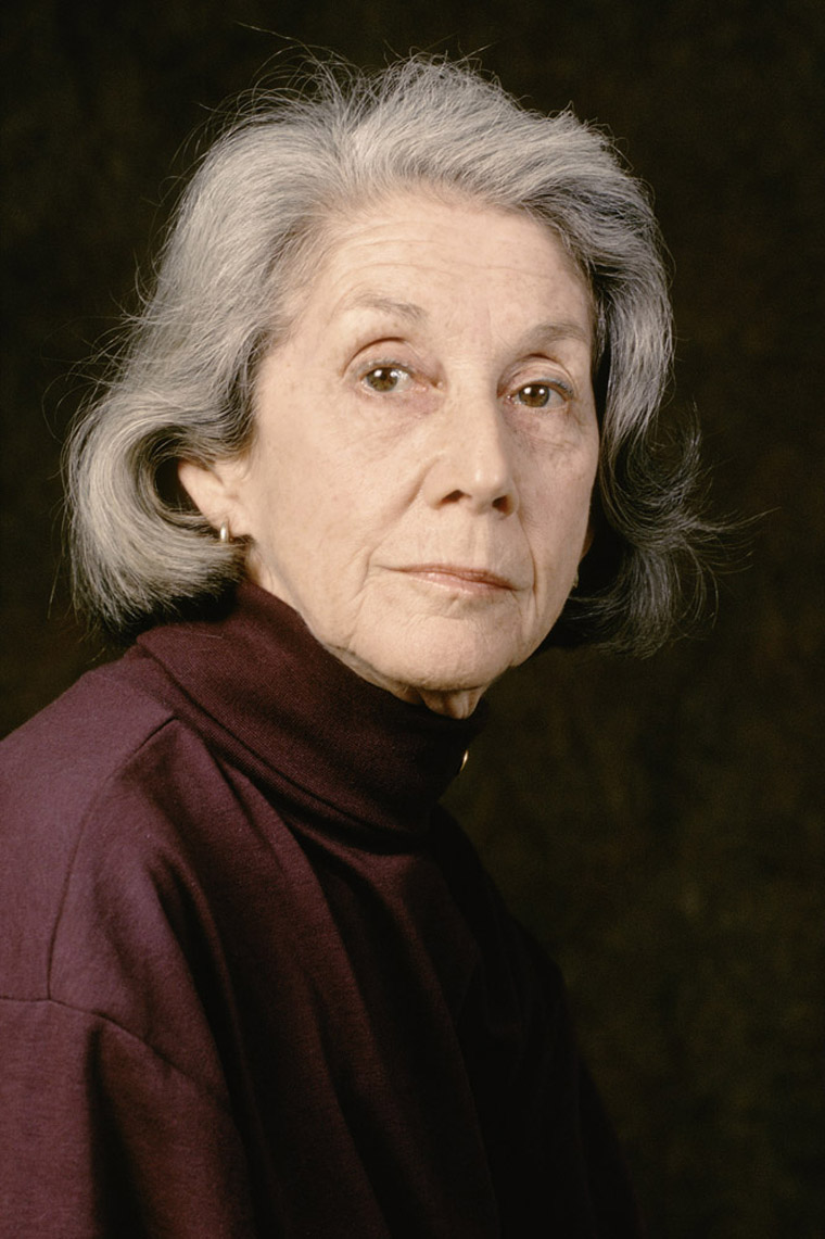 Portrait of Nadine Gordimer
