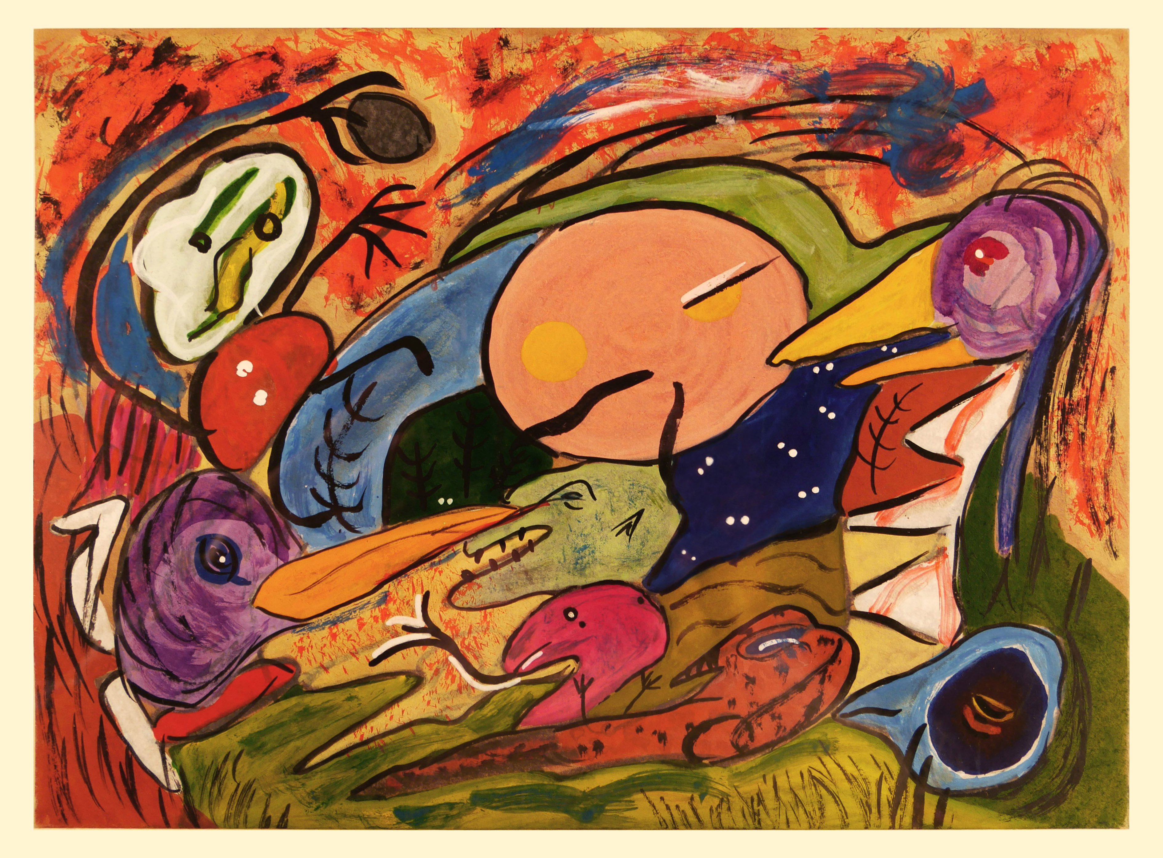 Image of painting by Clifford Odets