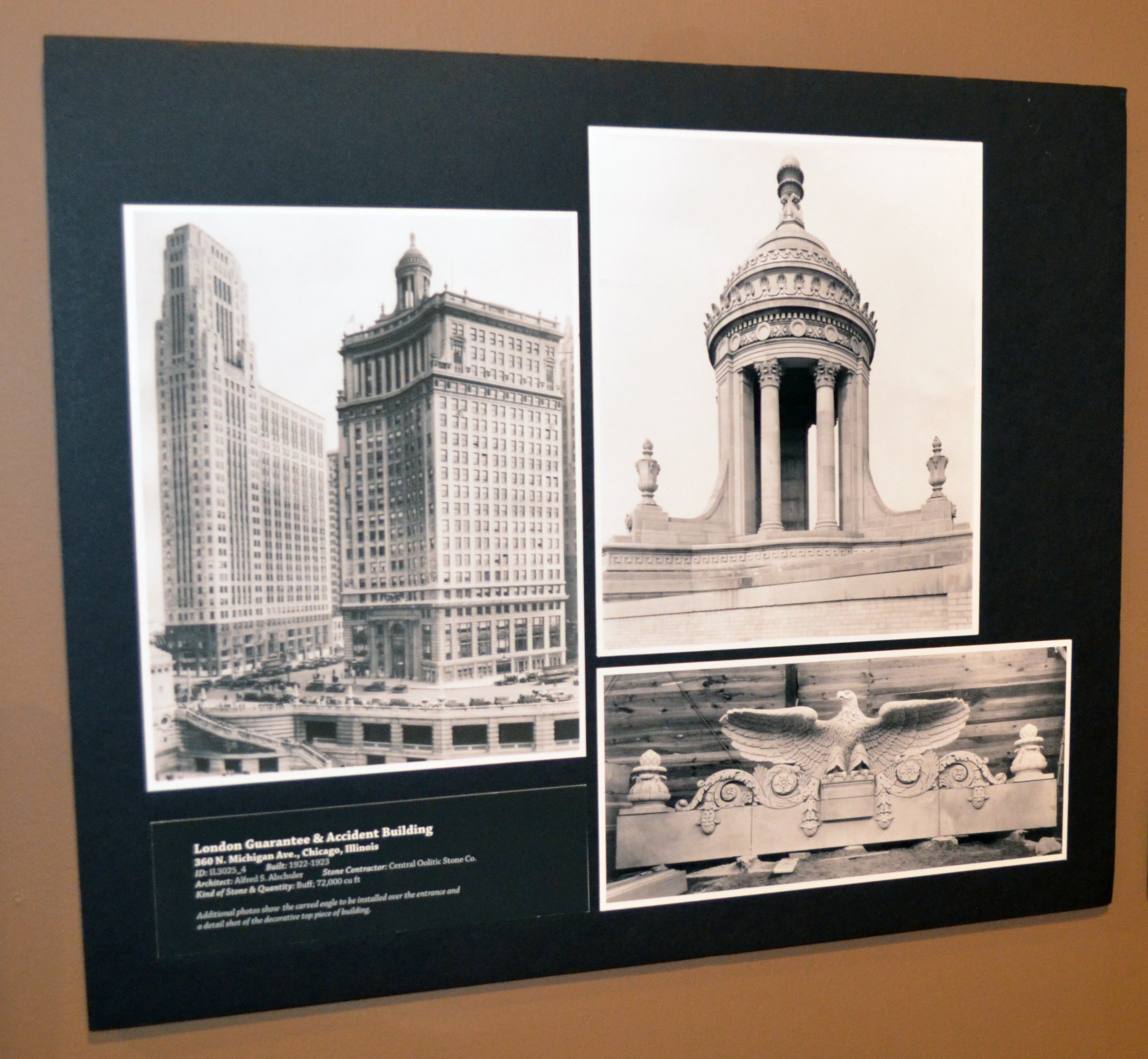 Image taken at the Monroe County History Center exhibit on Indiana Limestone
