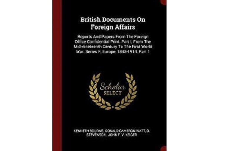 British Documents on Foreign Affairs cover page