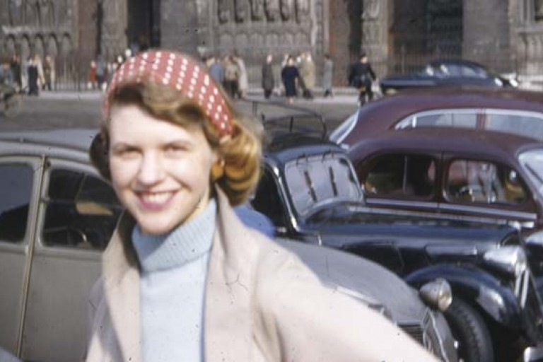 Photograph of Sylvia Plath