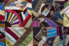 Crazy quilt close up