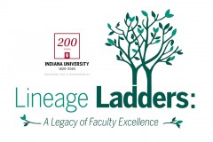 Lineage Ladders graphic, featuring a green tree with many branches and leaves.